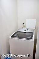 Extra washer area